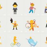 "GoogleMapのキャラクター""ペグマン""がバレンタイン仕様に。"