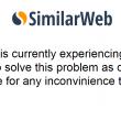 similarwebが停止